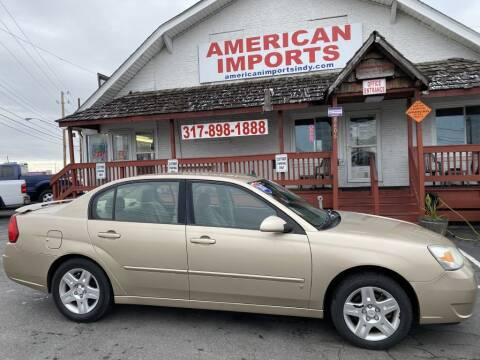 2007 Chevrolet Malibu for sale at American Imports INC in Indianapolis IN