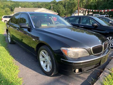 2008 BMW 7 Series for sale at GMG AUTO SALES in Scranton PA