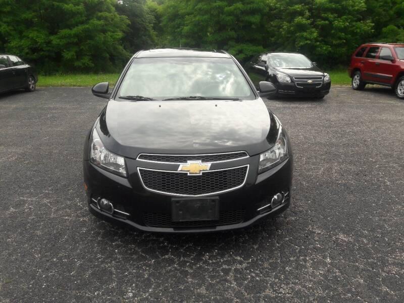 2014 Chevrolet Cruze for sale at Discount Auto World in Morris IL