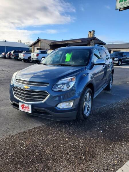 2016 Chevrolet Equinox for sale at Four Guys Auto in Cedar Rapids IA