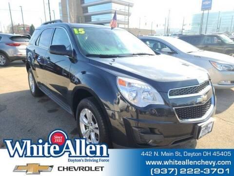 2015 Chevrolet Equinox for sale at WHITE-ALLEN CHEVROLET in Dayton OH