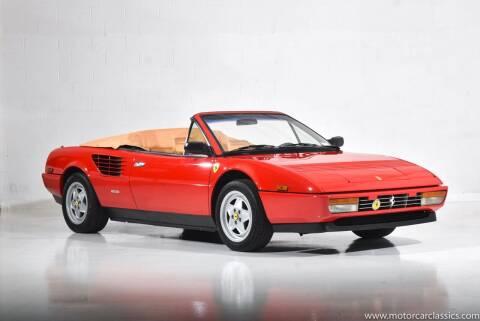 1986 Ferrari Mondial Cabriolet for sale at Motorcar Classics in Farmingdale NY
