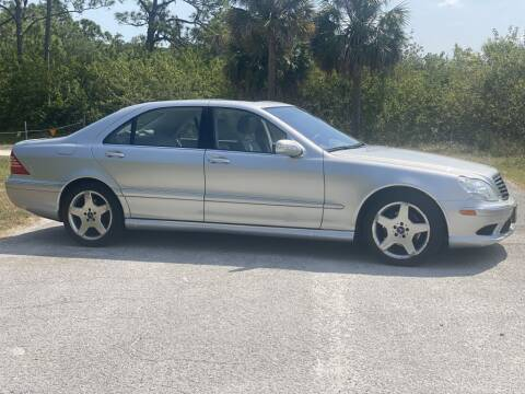 2004 Mercedes-Benz S-Class for sale at D & D Used Cars in New Port Richey FL
