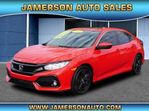 2019 Honda Civic for sale at Jamerson Auto Sales in Anderson IN