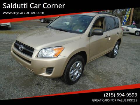 2010 Toyota RAV4 for sale at Saldutti Car Corner in Gilbertsville PA