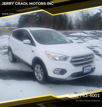 2017 Ford Escape for sale at JERRY GRADL MOTORS INC in North Tonawanda NY