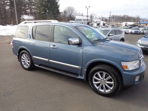 2008 Infiniti QX56 for sale at BETTER BUYS AUTO INC in East Windsor CT