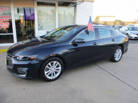 2018 Chevrolet Malibu for sale at Metroplex Motors Inc. in Houston TX