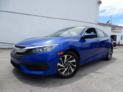 2017 Honda Civic for sale at Port Motors in West Palm Beach FL
