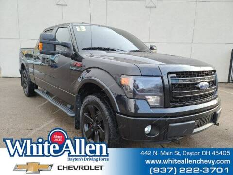 2013 Ford F-150 for sale at WHITE-ALLEN CHEVROLET in Dayton OH