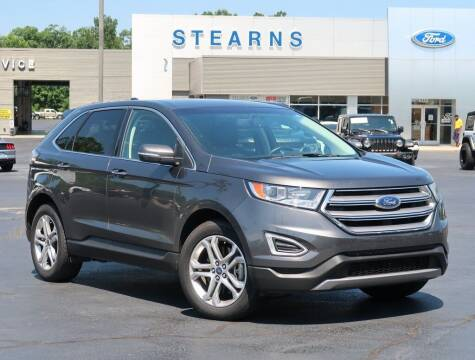 2018 Ford Edge for sale at Stearns Ford in Burlington NC