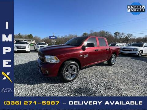 2018 RAM Ram Pickup 1500 for sale at Impex Auto Sales in Greensboro NC