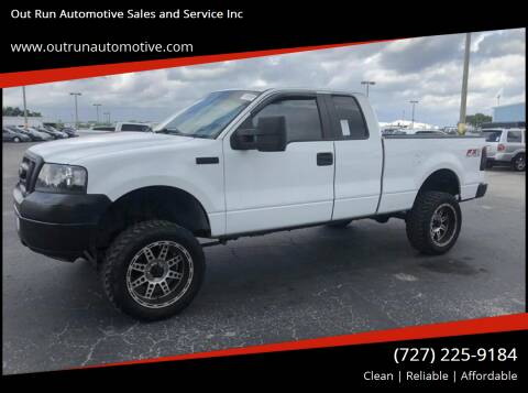 2007 Ford F-150 for sale at Out Run Automotive Sales and Service Inc in Tampa FL