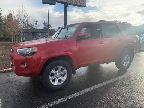 2019 Toyota 4Runner for sale at South Commercial Auto Sales in Salem OR