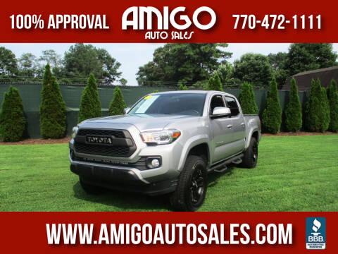 2016 Toyota Tacoma for sale at Amigo Auto Sales in Marietta GA
