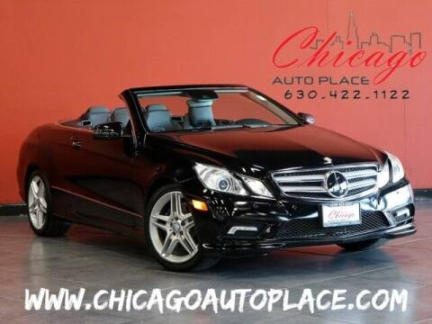 2011 Mercedes-Benz E-Class for sale at Chicago Auto Place in Bensenville IL