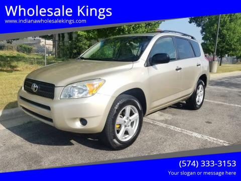 2008 Toyota RAV4 for sale at Wholesale Kings in Elkhart IN