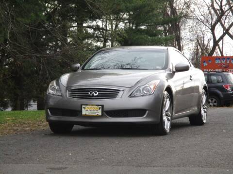 2009 Infiniti G37 Coupe for sale at Loudoun Used Cars in Leesburg VA
