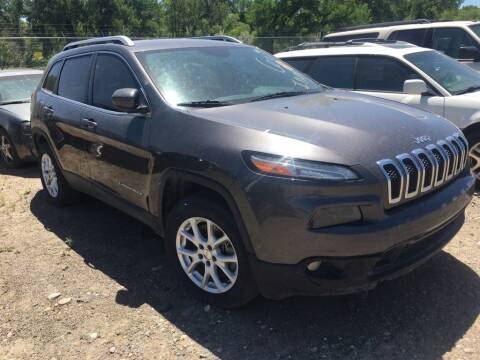 2014 Jeep Cherokee for sale at KHAN'S AUTO LLC in Worland WY