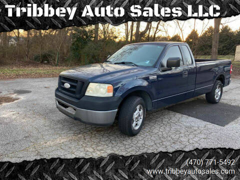 2006 Ford F-150 for sale at Tribbey Auto Sales in Stockbridge GA