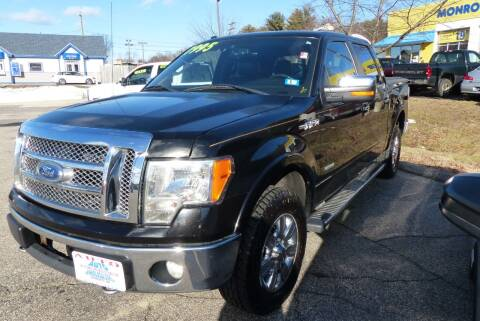 2011 Ford F-150 for sale at Auto Wholesalers Of Hooksett in Hooksett NH