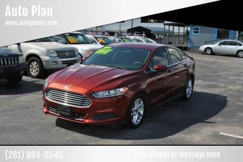 2014 Ford Fusion for sale at Auto Plan in La Porte TX