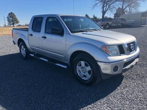 2006 Nissan Frontier for sale at RAYMOND TAYLOR AUTO SALES in Fort Gibson OK