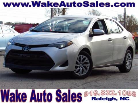 2019 Toyota Corolla for sale at Wake Auto Sales Inc in Raleigh NC