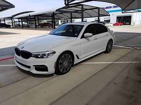 2018 BMW 5 Series for sale at Jerry's Buick GMC in Weatherford TX