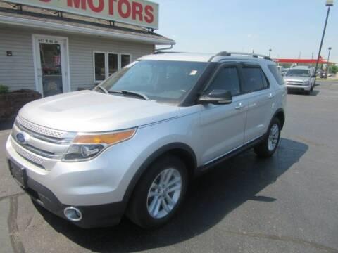 2013 Ford Explorer for sale at Burgess Motors Inc in Michigan City IN