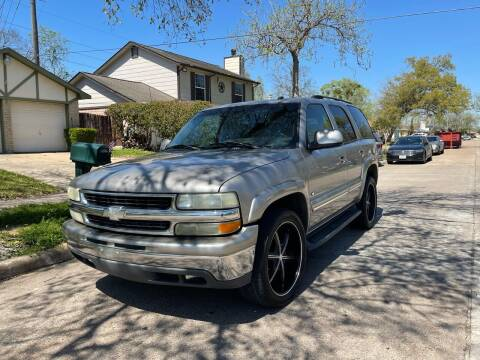 2003 Chevrolet Tahoe for sale at Demetry Automotive in Houston TX