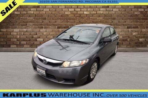 2010 Honda Civic for sale at Karplus Warehouse in Pacoima CA