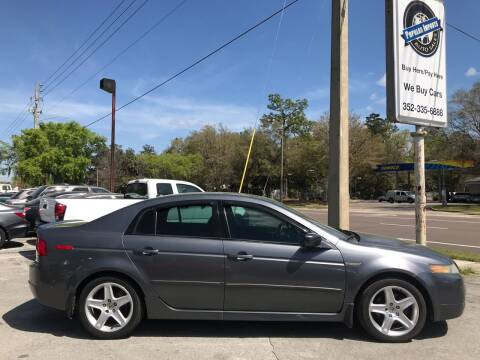 2004 Acura TL for sale at Popular Imports Auto Sales in Gainesville FL