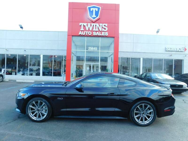 2015 Ford Mustang for sale at Twins Auto Sales Inc Redford 1 in Redford MI