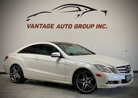 2011 Mercedes-Benz E-Class for sale at Vantage Auto Group Inc in Fresno CA