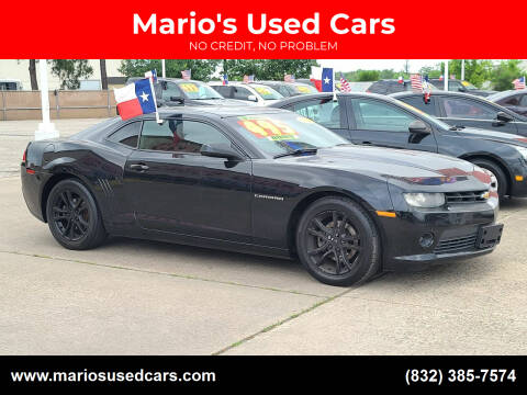 2014 Chevrolet Camaro for sale at Mario's Used Cars in Houston TX