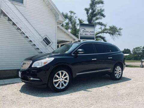 2015 Buick Enclave for sale at BARKLAGE MOTOR SALES in Eldon MO