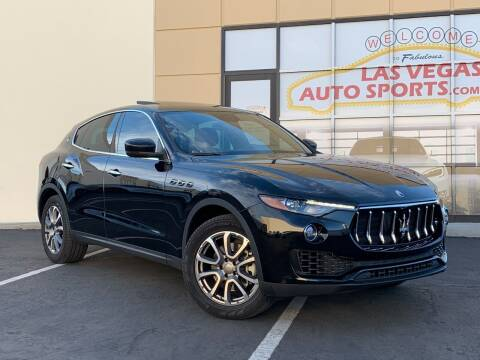 2017 Maserati Levante for sale at Las Vegas Auto Sports in Las Vegas NV