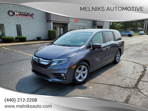 2019 Honda Odyssey for sale at Melniks Automotive in Berea OH