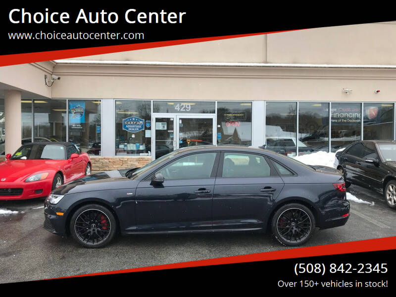2018 Audi A4 for sale at Choice Auto Center in Shrewsbury MA