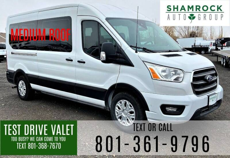 2020 Ford Transit Passenger for sale at Shamrock Group LLC #1 in Pleasant Grove UT