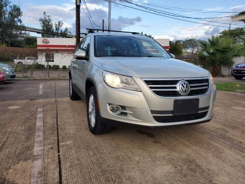 2011 Volkswagen Tiguan for sale at Zora Motors in Houston TX
