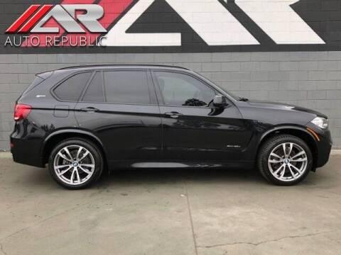 2018 BMW X5 for sale at Auto Republic Fullerton in Fullerton CA
