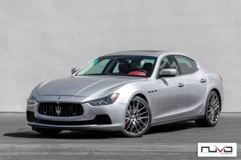 2015 Maserati Ghibli for sale at Nuvo Trade in Newport Beach CA