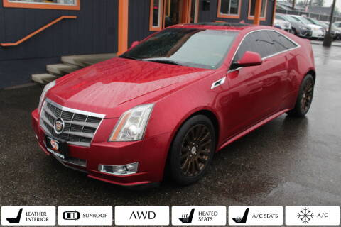 2011 Cadillac CTS for sale at Sabeti Motors in Tacoma WA