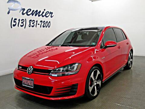 2016 Volkswagen Golf GTI for sale at Premier Automotive Group in Milford OH