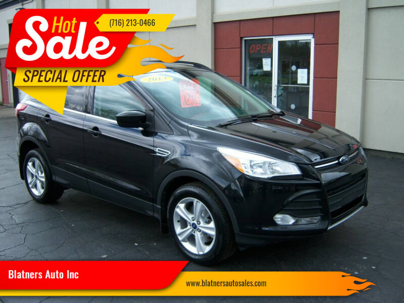 2013 Ford Escape for sale at Blatners Auto Inc in North Tonawanda NY