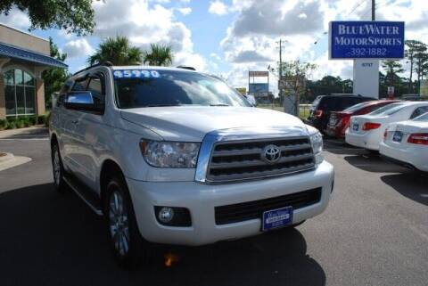 2015 Toyota Sequoia for sale at BlueWater MotorSports in Wilmington NC