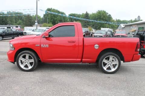 2014 RAM Ram Pickup 1500 for sale at LA MOTORSPORTS in Windom MN