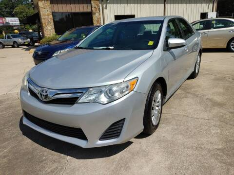 2013 Toyota Camry for sale at TR Motors in Opelika AL